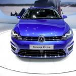 VW Golf Variant Concept R-Line auf Autosalon Genf 2013