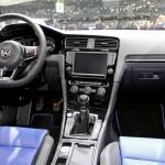 Der Innenraum des VW Golf Variant Concept R-Line