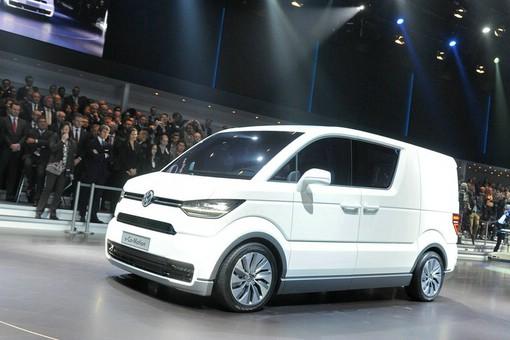 Volkswagen e-Co-Motion fährt rein elektrisch