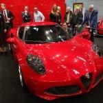 Alfa Romeo 4C auf der Techno Classica 2013