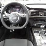 Das Cockpit eines 2013er Audi RS6 Avant