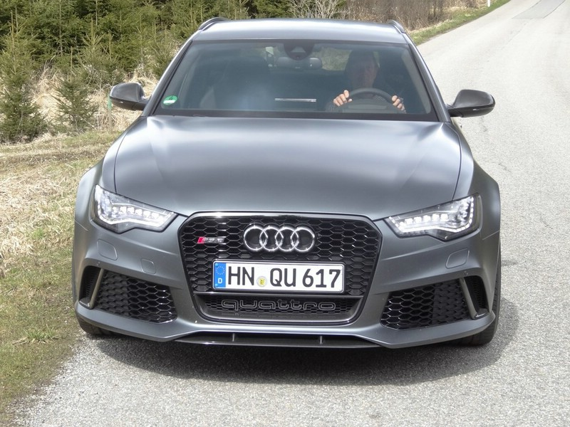 Die Frontpartie des Audi RS6 Avant 4.0 TFSI Quattro Tiptronic