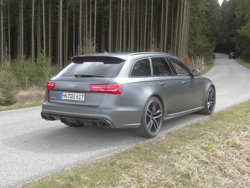 Audi RS6 Avant 4.0 TFSI Quattro Tiptronic Matt 2013 (Heck, Standansicht)
