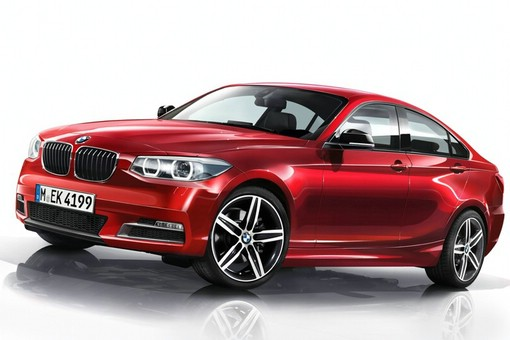 BMW 2er Gran Coupe 2015 in rot