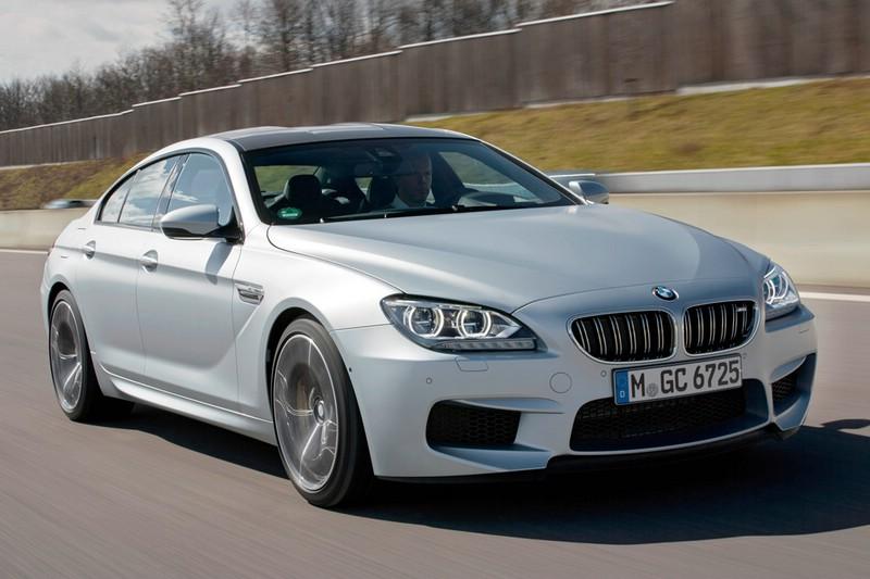 BMW M6 Gran Coupé Au0enansicht (Fahraufnahme)