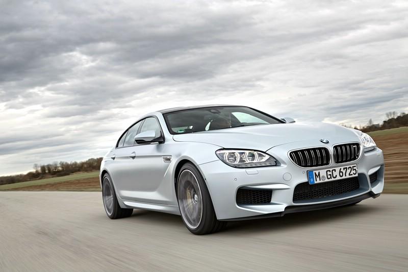 Die Frontpartie des BMW M6 Gran Coupe