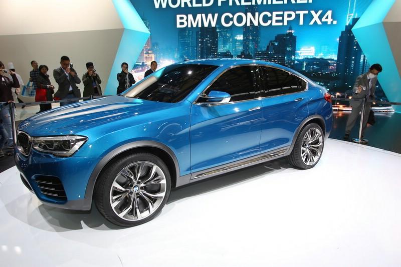 BMW X4 auf der Auto Shanghai 2013