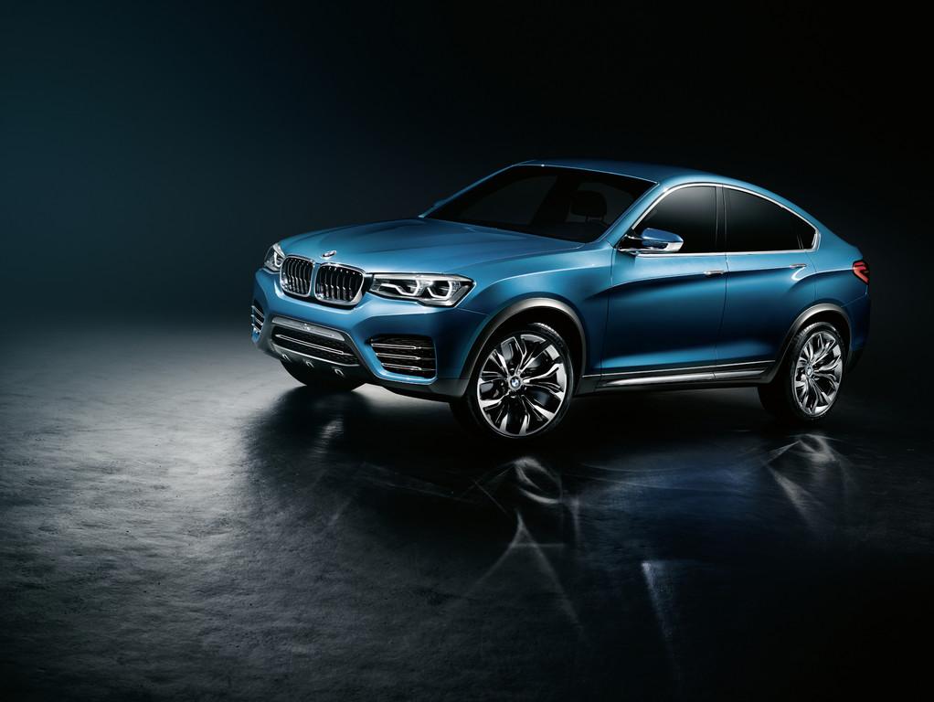 Der BMW X4 soll im Jahr 2014 auf den Markt kommen