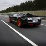 Bugatti Roadster Veyron 16.4 Grand Sport Vitesse in der Heckansicht