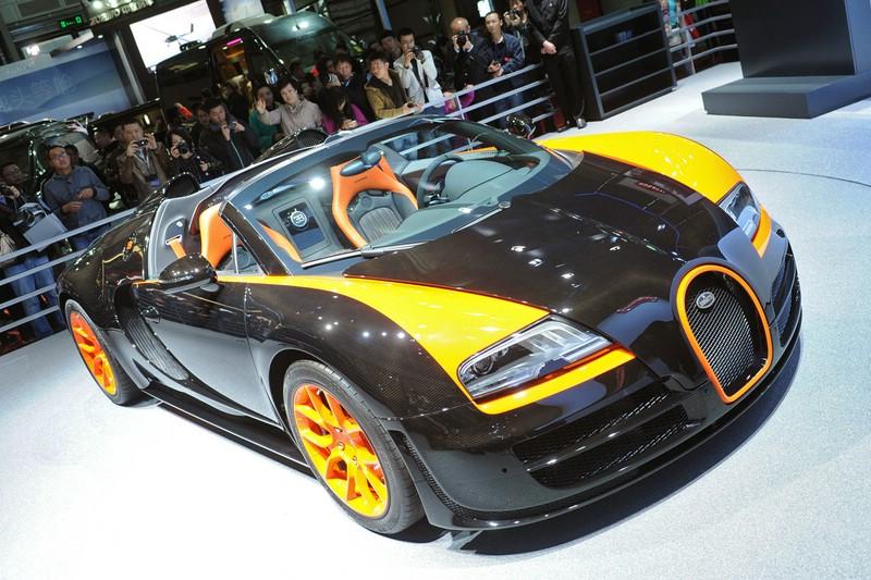 Die Frontpartie des Bugatti Veyron 16.4 Grand Sport Vitesse