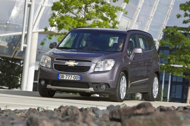 Chevrolet Orlando in der Ausstattung LTZ