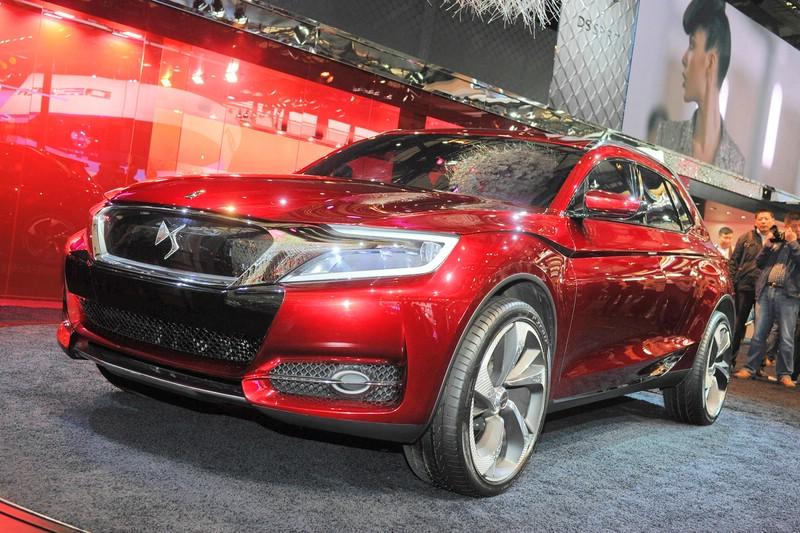 citroen concept car ds wild rubis auto shanghai 2013. Black Bedroom Furniture Sets. Home Design Ideas