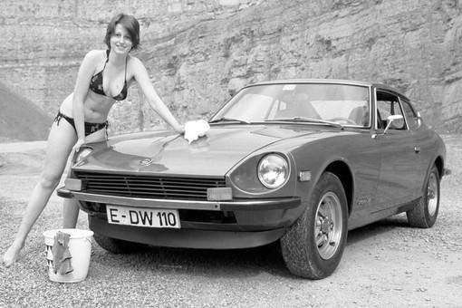 Datsun Automodell 260Z von 1974