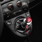 Der Schaltknauf des Fiat 500S