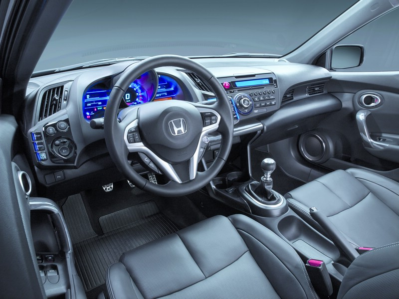 Das Cockpit des Honda CR-Z GT