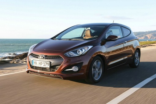 2013er Hyundai i30 in der Coupe Version