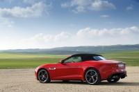 Jaguar F-Type V8 S in rot geschlossen 2013er Modell