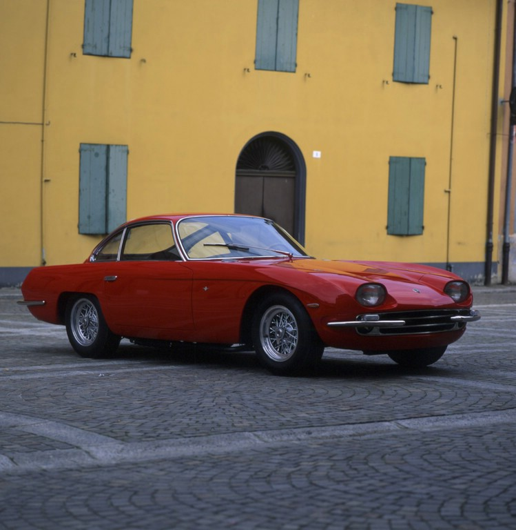 1964er Lamborghini 350 GT in rot