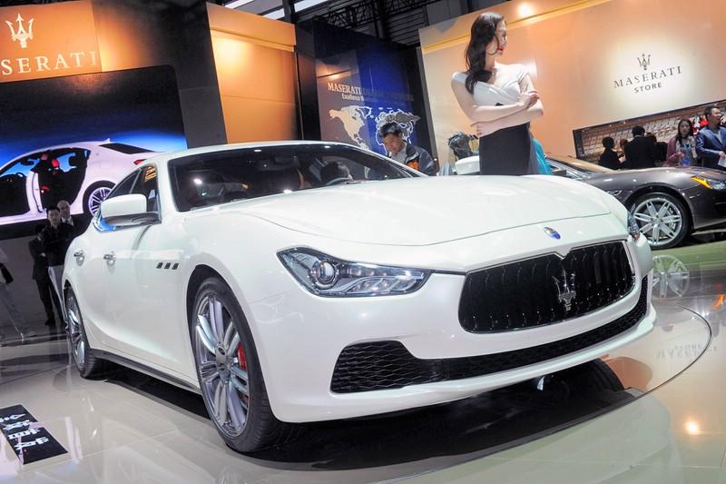 Maserati Ghibli auf der Auto Shanghai 2013