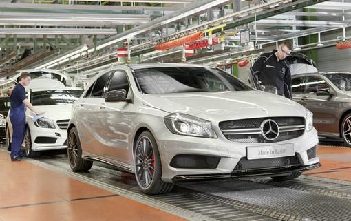 Mercedes-Benz A 45 AMG Produktion im Werk Rastatt