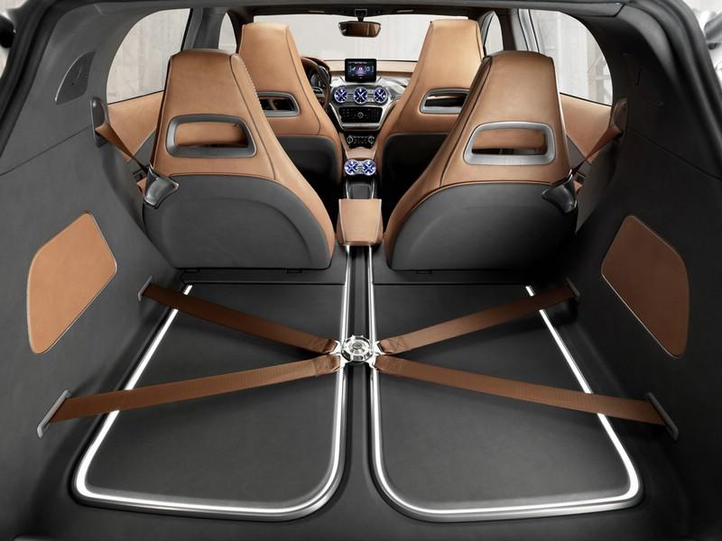 Galerie Mercedes Benz Concept Gla Kofferraum Bilder Und Fotos