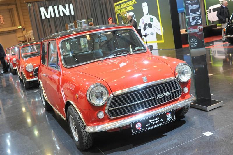 Mini Cooper 1300 Innocenti auf der Techno Classica