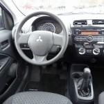 Das Cockpit des Mitsubishi Space Star