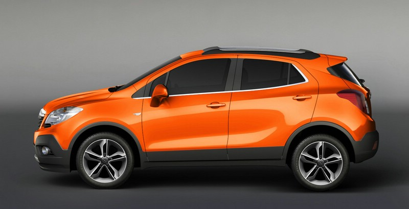 Opel Mokka in India Orange Metallic und 19 Zoll Felgen