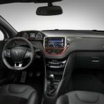 Der Innenraum des Peugeot 208 GTI