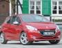 Der neue (2013) Peugeot 208 GTI in der Frontansicht