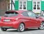 Roter Peugeot 208 GTI in der Heckansicht