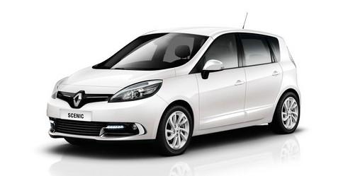 2013er Renault Scenic als Sondermodell Paris