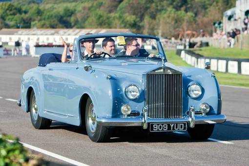 Rolls-Royce Silver Cloud Baujahr 1957 in Blau