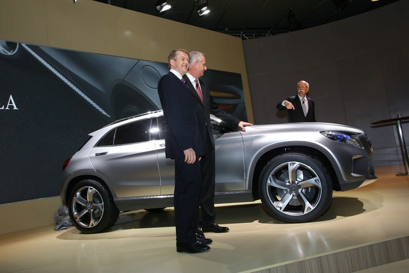 Mercedes-Benz GLA Konzeptfahrzeug auf der Auto Shanghai 2013