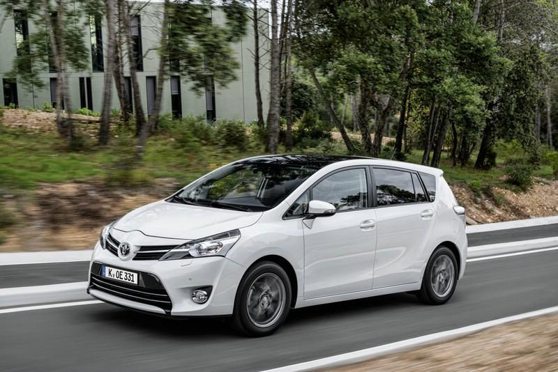 Toyota Verso Exterieur Bilder vom 2013-er Modell
