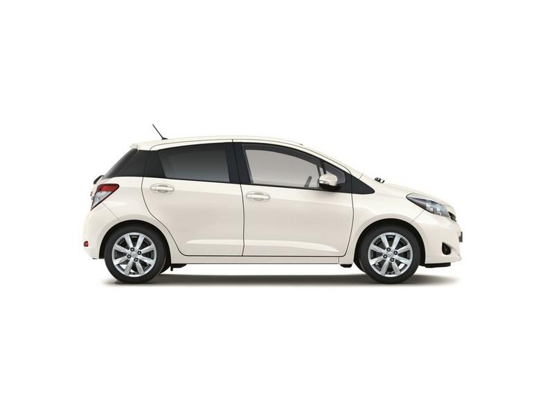 Toyota Yaris Edition in der Seitenansicht