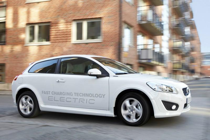 Der Volvo C30 Electric fährt rein elektrisch