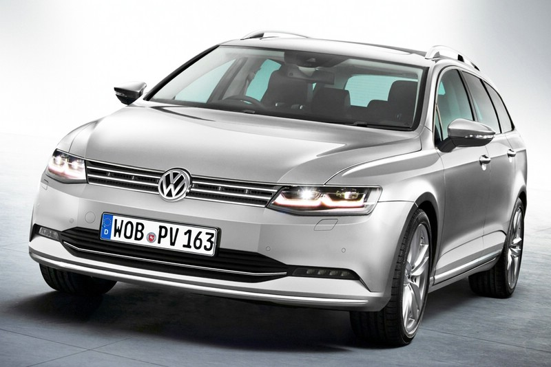 Volkswagen Passat 2014 soll im August nächsten Jahres auf den Markt kommen