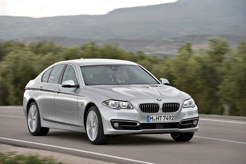 BMW 5er als Limousine 2013 Exterieur