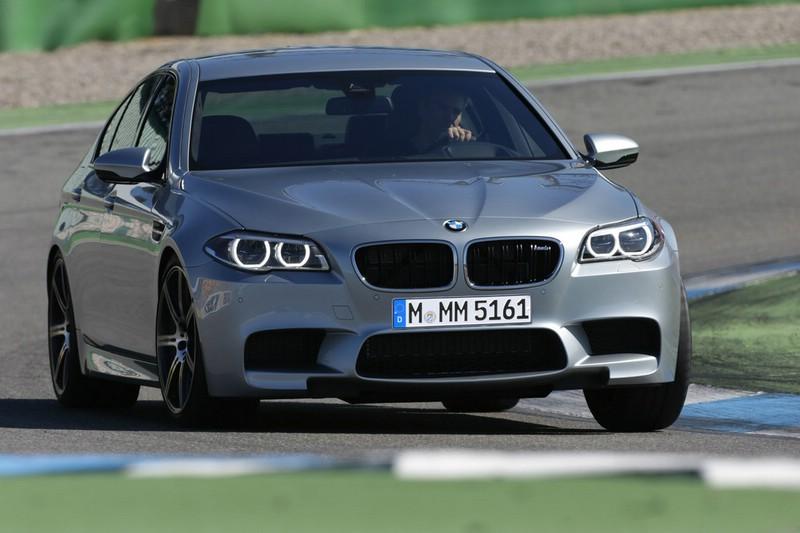 Bilder vom Facelift BMW M5 2014