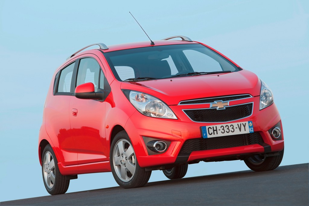 Chevrolet Spark 1.2 LT 1.2 in rot 2013