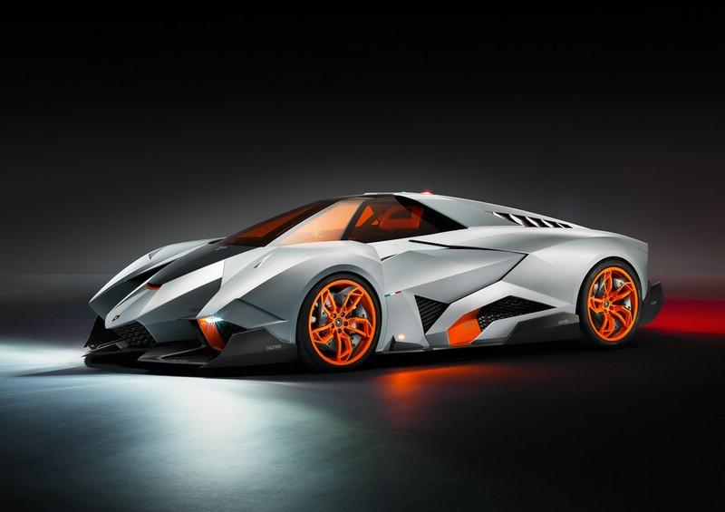 Lamborghini Egoista Exterieur Bilder