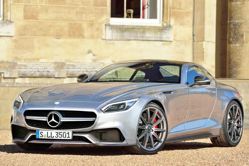 Mercedes-Benz GT kommt ohne Flügeltüren