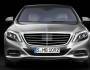 Die Frontpartie der neuen Mercedes-Benz S-Klasse W222