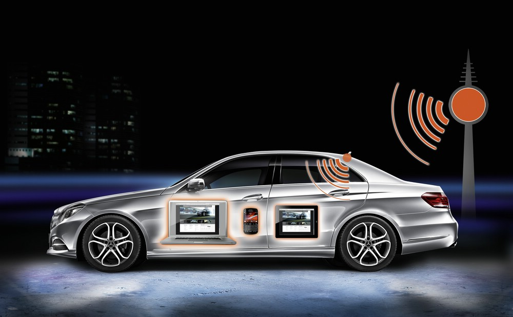 Mercedes-Benz E-Klasse bekommt ein neues Multimedia-System
