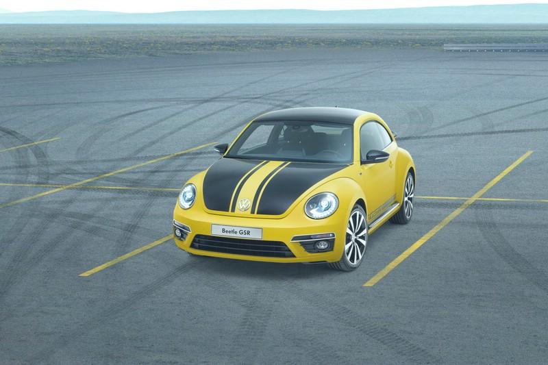 Die Frontpartie des VW Beetle GSR