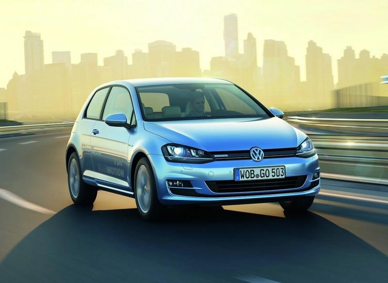 der sparsame Volkswagen Golf TDI Blue Motion