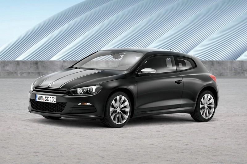 Volkswagen Scirocco Million 2013 in der Front- Seitenansicht