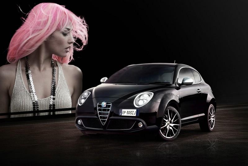 Der Kühlergrill des Alfa Romeo Mito 2014