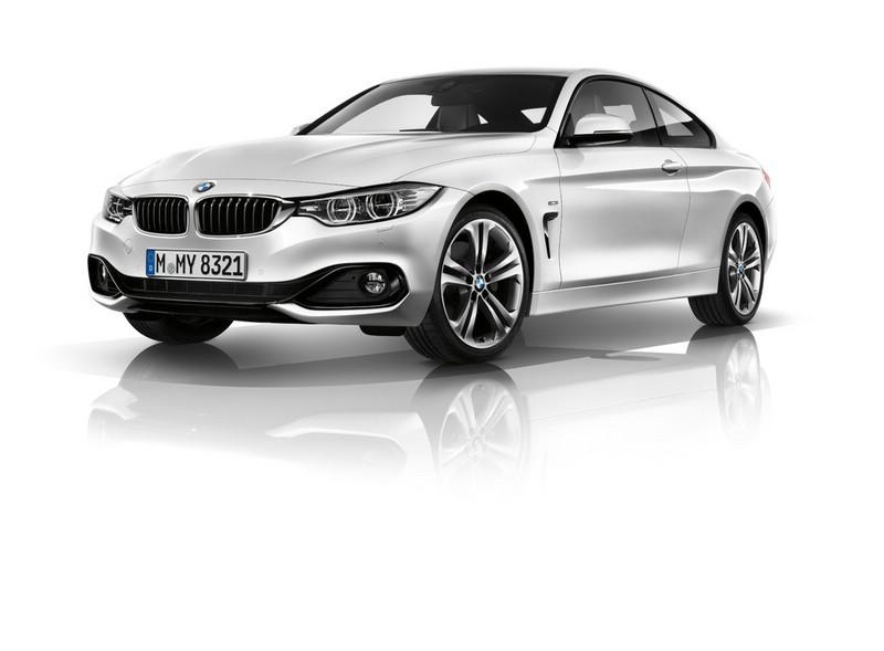 2013er BMW 4er Coupé in der Frontansicht